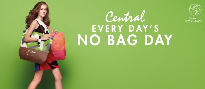 Central to stop automatically giving out plastic bags at department stores